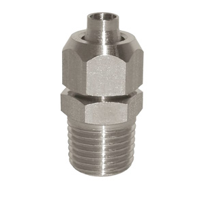 sopra-pneumatic.com - Union simple mâle Type de raccord : conique Diamètre ext. tube : 6 - 8 - 10 - 12 mm Raccord : 1/8 - 1/4 - 3/8 - 1/2
