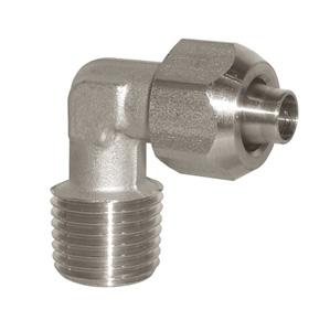 sopra-pneumatic.com - Coude Type de raccord : conique Diamètre ext. tube : 6 - 8 - 10 - 12 mm Raccord : 1/8 - 1/4 - 3/8 - 1/2