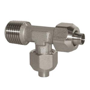 sopra-pneumatic.com - Raccord en T latéral Orientable Type de raccord : conique Diamètre ext. tube : 6 - 8 - 10 mm Raccord : 1/8 - 1/4 - 3/8