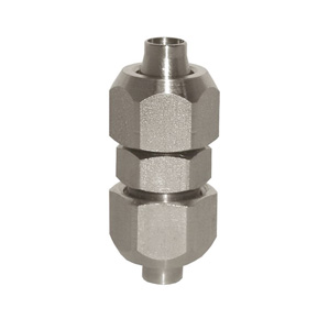 sopra-pneumatic.com - Union double Diamètre ext. tube : 6 - 8 - 10 mm