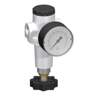 sopra-pneumatic.com - Débit : G1/4-G3/8 = 1000 l/min Pression d'entrée : maxi. 16 bar Température du fluide : 0°C à +60°C Livré avec manomètre