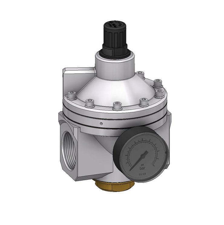sopra-pneumatic.com - Débit : G1.1/4-G1.1/2 = 31500 l/min Pression d'entrée : maxi. 25 bar température du fluide : -10°C à +60°C Livré avec manomètre