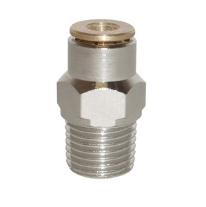 sopra-pneumatic.com - Union simple mâle Type de raccord : conique Diamètre ext. tube : 4 - 6 mm Raccord : M6 - M8 - M10 - 1/8 - 1/4