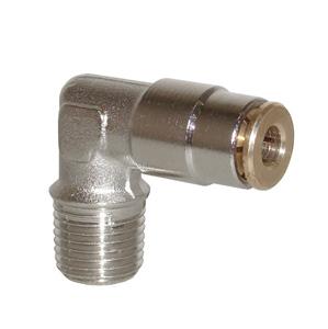 sopra-pneumatic.com - Coude mâle Type de raccord : conique Diamètre ext. tube : 4 - 6 mm Raccord : M6 - M8 - M10 - 1/8
