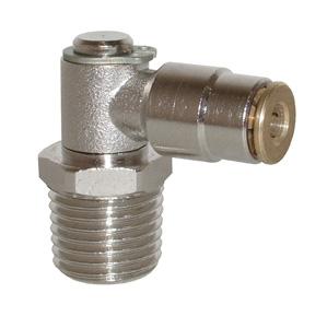 sopra-pneumatic.com - Coude mâle Type de raccord : conique Orientable Diamètre ext. tube : 4 - 6 mm Raccord : M6 - M8 - M10 - 1/8 - 1/4