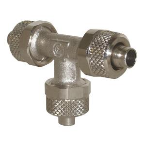 sopra-pneumatic.com - Raccord en T Diamètre ext. tube : 5 - 6 - 8 - 10 - 12 - 15 mm