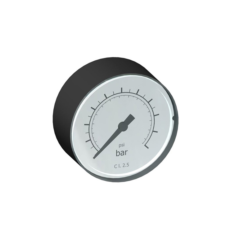 "sopra-pneumatic.com - Manomètre Ø50 mm Raccordement G1/4"" et G1/8"" Pression jusqu'à 16 bar"