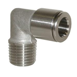 sopra-pneumatic.com - Coude mâle Type de raccord : conique Diamètre ext. tube : 4 - 6 - 8 - 10 mm Raccord : 1/8 - 1/4