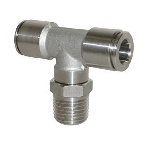 sopra-pneumatic.com - Coude mâle Type de raccord : conique Orientable Diamètre ext. tube : 4 - 6 - 8 - 10 mm Raccord : 1/8 - 1/4 - 3/8