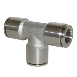 sopra-pneumatic.com - Raccord en T Diamètre ext. tube : 4 - 6 - 8 - 10 - 12 mm