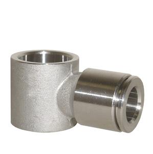 sopra-pneumatic.com - Banjo Diamètre ext. tube : 4 - 6 - 8 - 10 - 12 mm Raccord : 1/8 - 1/4 - 3/8 - 1/2