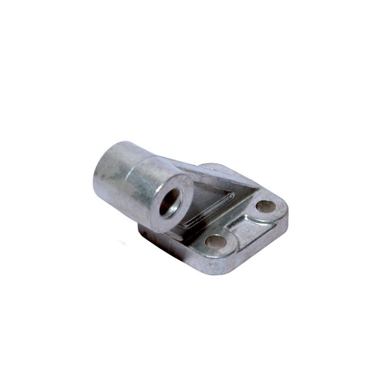 sopra-pneumatic.com - Chape arrière mâle équerre ISO pour vérin compact VI Aluminium