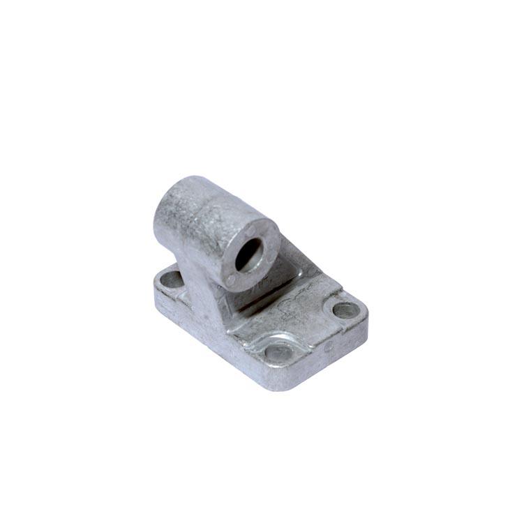 sopra-pneumatic.com - Chape arrière mâle équerre AB3 pour vérin compact VI Aluminium - Inox ou Acier