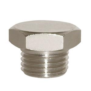 sopra-pneumatic.com - Bouchon cylindrique Raccord : M5 - 1/8 - 1/4 - 3/8 - 1/2 - 3/4 – 1