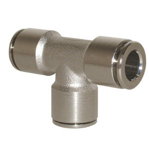 sopra-pneumatic.com - Raccord en T Diamètre ext. tube : 4 - 6 - 8 - 10 mm