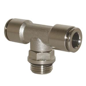 sopra-pneumatic.com - Raccord en T Type de raccord : cylindrique Orientable Diamètre ext. tube : 8 mm Raccord : 1/8 - 1/4