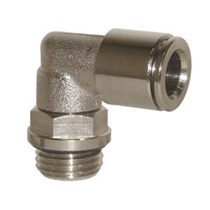 sopra-pneumatic.com - Raccord coudé Type de raccord : cylindrique Orientable Diamètre ext. tube : 4 - 6 - 8 - 10 mm Raccord : M5 - 1/8 - 1/4 - 3/8