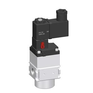 sopra-pneumatic.com - Débit : G1/4 = 900 l/min Pression d'entrée : 2 à 10 bar Signal d'entrée : 24 V
