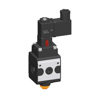sopra-pneumatic.com - Débit : G1/4 =1600 l/min Pression d'entrée : 2 à 10 bar Signal d'entrée : 24 V