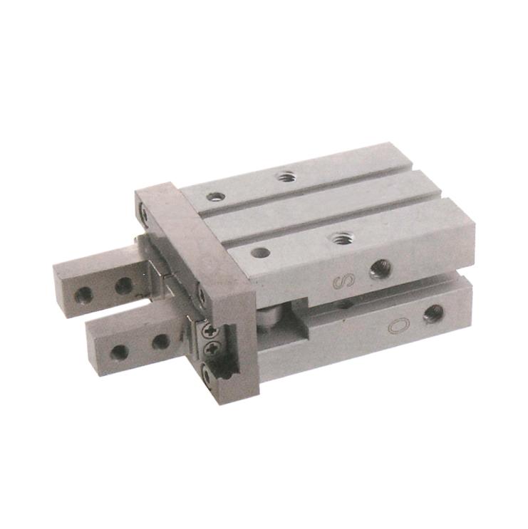 sopra-pneumatic.com - Diamètre : 10 à 25 mm Fonction : double effet - simple effet pince ouverte - simple effet pince fermée Course : 4 - 6 - 10 - 14 mm Montage des capteurs F20** ou F16** dans le profilé