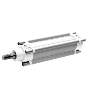 sopra-pneumatic.com - Conforme aux normes ISO 15552 - VDMA 24562 - NFE 49-003-1 Fonderies verni epoxy Diamètre : 32 à 125 mm Fonction : double effet Course : maxi. 3000 mm Magnétique en standard Montage des capteurs F20** sur le profilé avec fixation